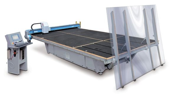 Brembana Agil - Flat Glass Cutting Table - CMS Glass