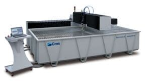 Brembana Easyline - Waterjet Cutting Robot - CMS Glass
