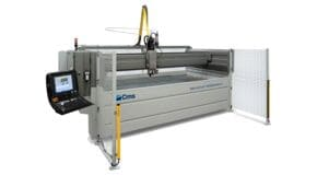 Brembana Milestone S - Waterjet Cutting Systems - CMS Glass