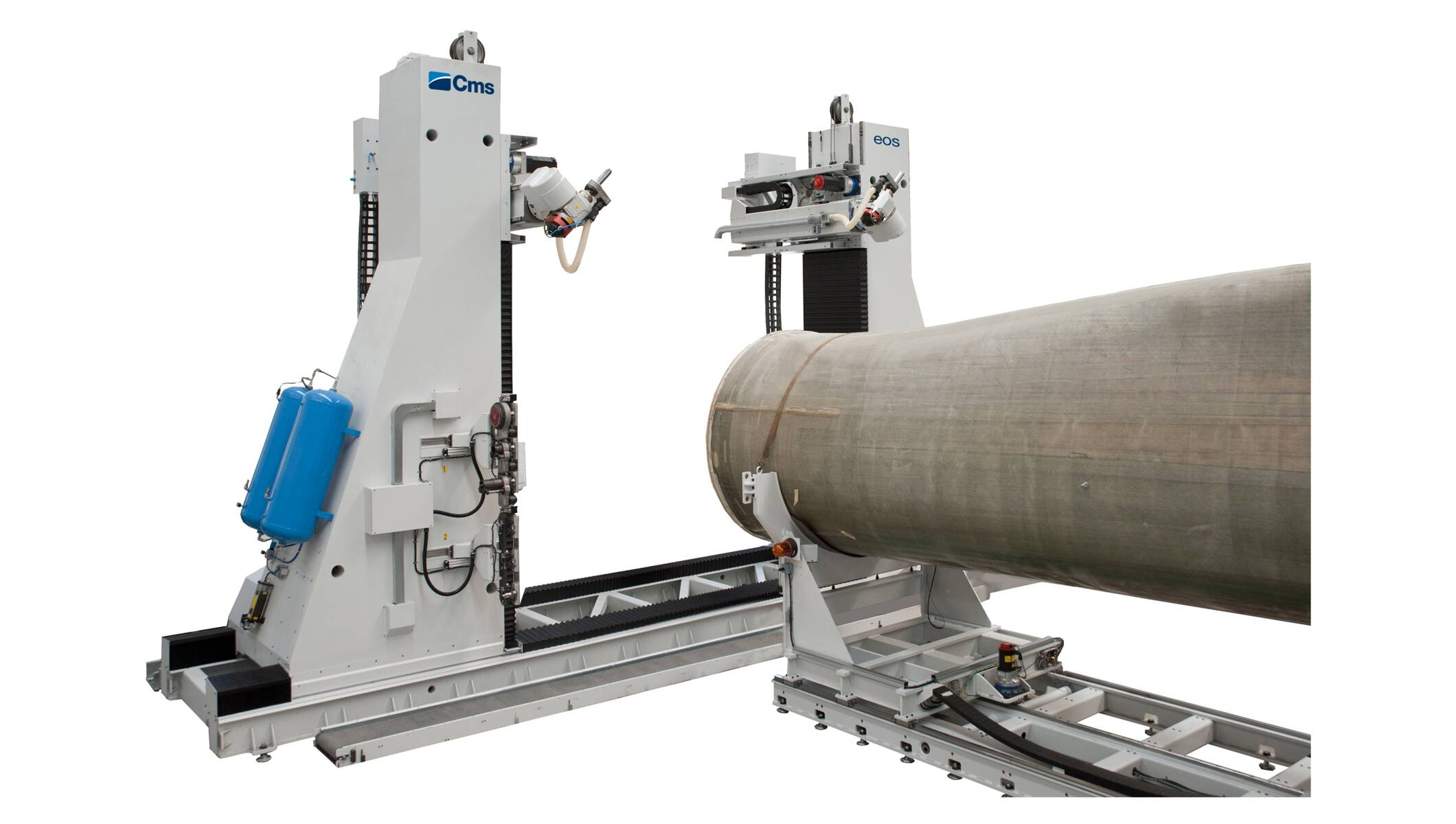 Advanced materials processing - Wind blade working systems - eos