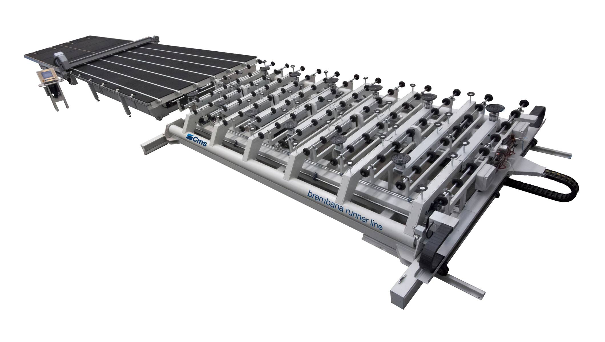 Glass processing - Cutting tables and cutting lines - brembana runner line