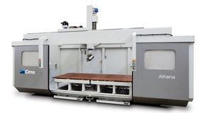 athena - High Speed 5-Axis CNC Machining Center - CMS Plastic