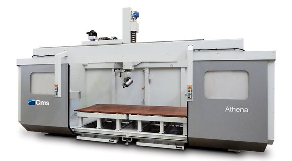 Athena | High Speed 5-Axis CNC Machining Center | CMS Plastic