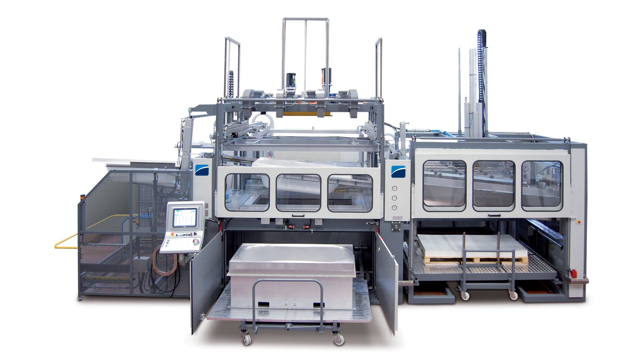 Plastic processing - Thermoforming machines - br5cs