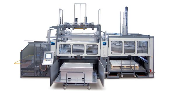 BR5 CS - Thermoforming Machine - CMS Plastic