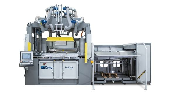 BR5 HP - Thermoforming with Vacuum and Pressure - CMS Plastic