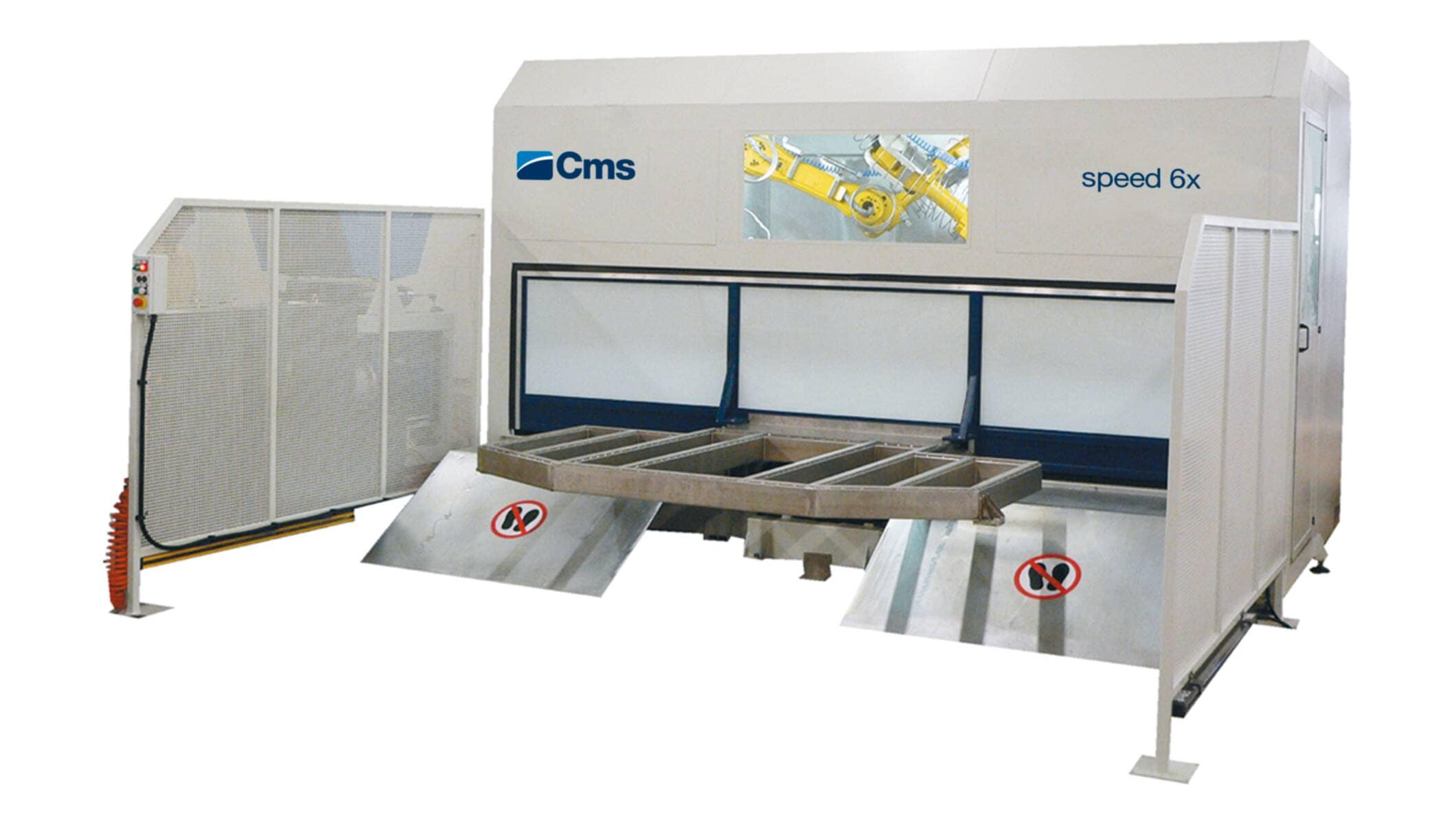 Plastic processing - 5-axis CNC machining centres - speed 6 wj