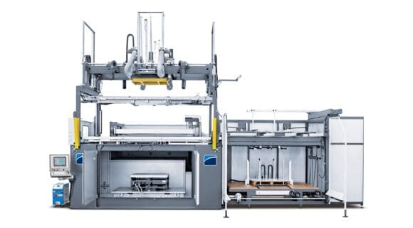 BR5 S - Automatic Thermoforming Machine - CMS Plastic