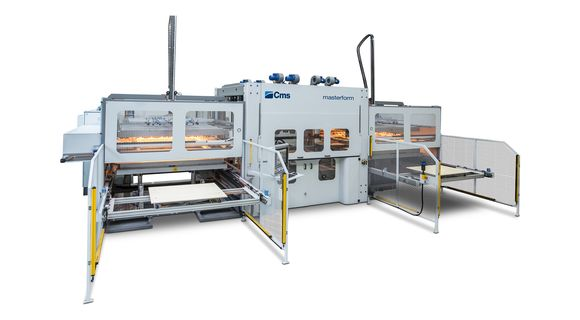 Masterform - Thermoforming Machine - CMS Plastic