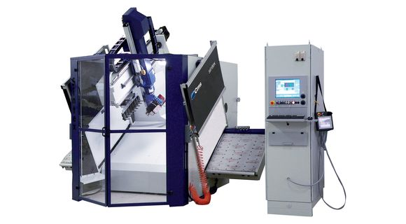 Sintex - Plastic Working 5-Axis Machining Centre - CMS Plastic