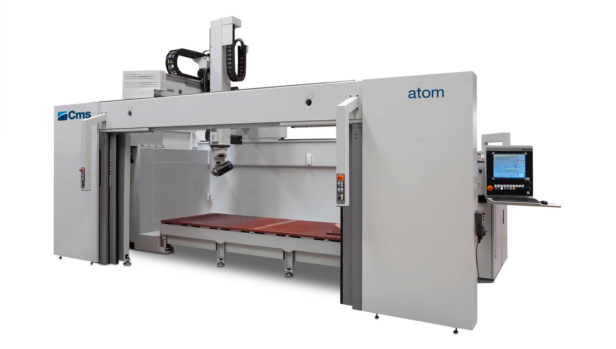 Plastic processing - 5-axis CNC machining centers - atom
