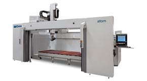 Atom - 5 Axes High Speed CNC Machining Center - CMS Plastic