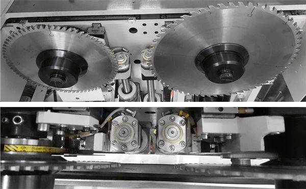 Automatic Single-Blade Beam Saw Gabbiani GT 2 - SCM Group