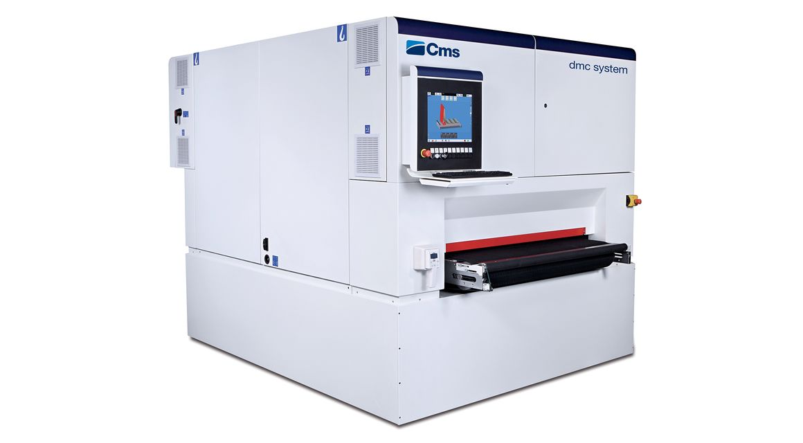 DMC - Deburring satinizing machine Metal System