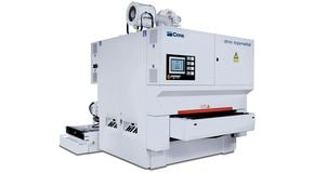DMC - Deburring satinizing machine Topmetal