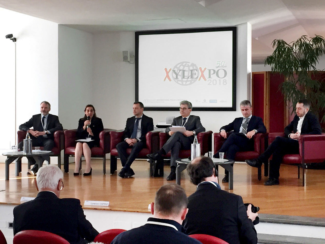 SCM at the Xylexpo International Press Conference