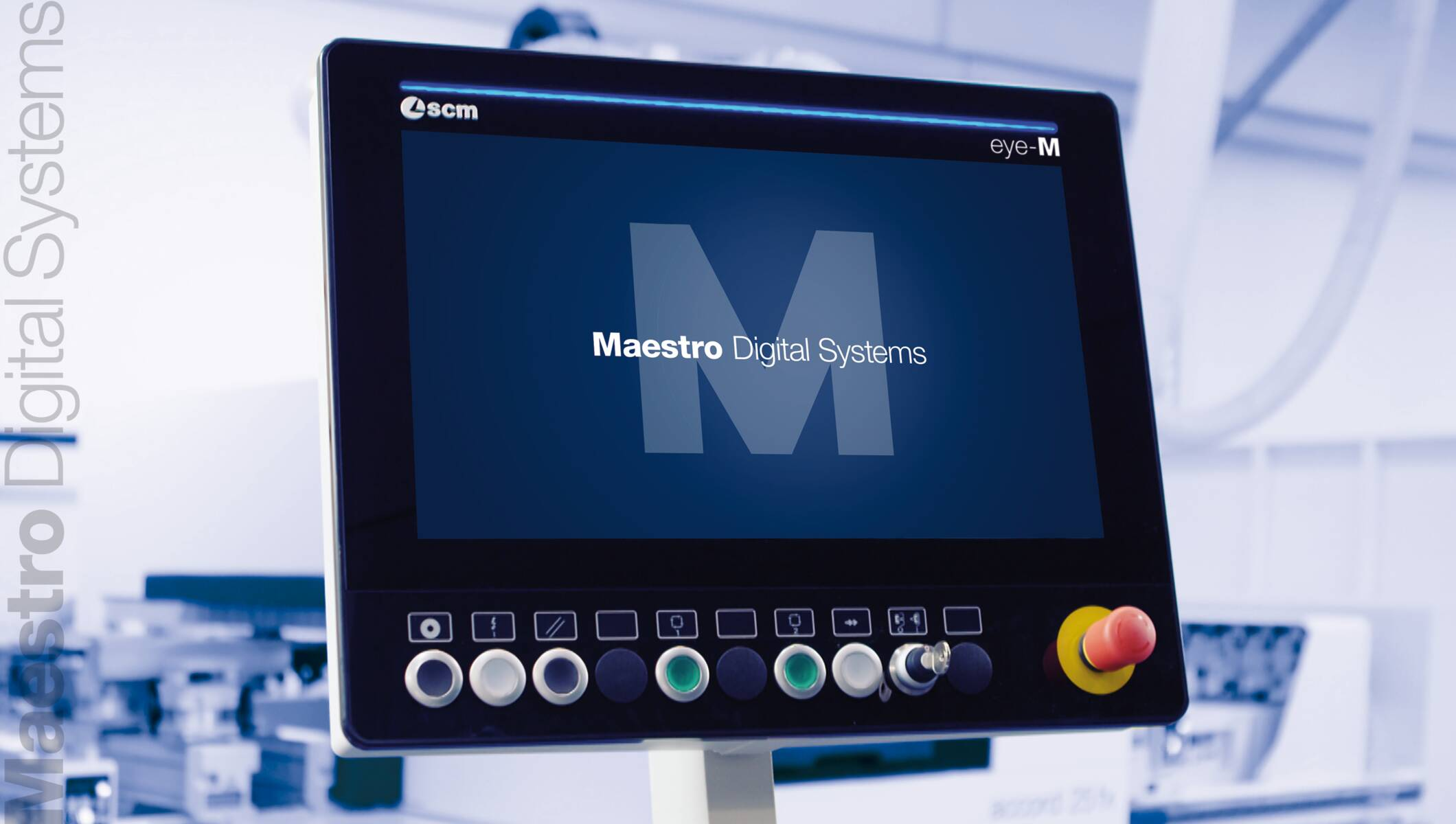 Maestro Digital Systems - Maestro Digital Systems - Consolle eye-M