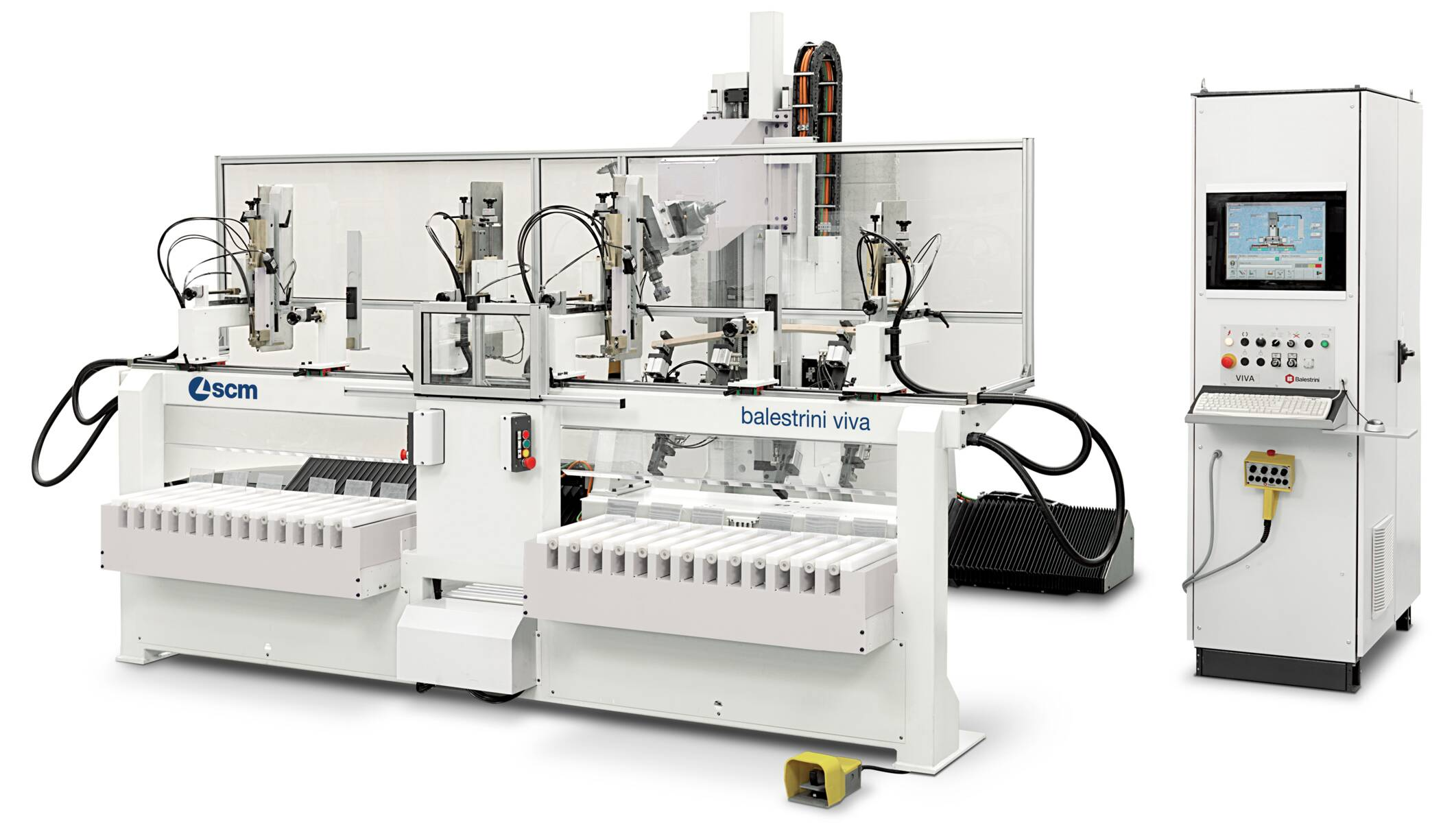 Tenoners, Mortisers, Double sided shapers - Tenoners, Mortisers, Double sided shapers - balestrini viva