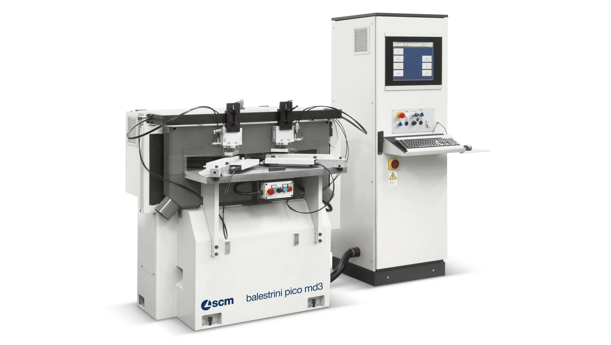 Tenoners, Mortisers, Double sided shapers - Tenoners, Mortisers, Double sided shapers - balestrini pico md3