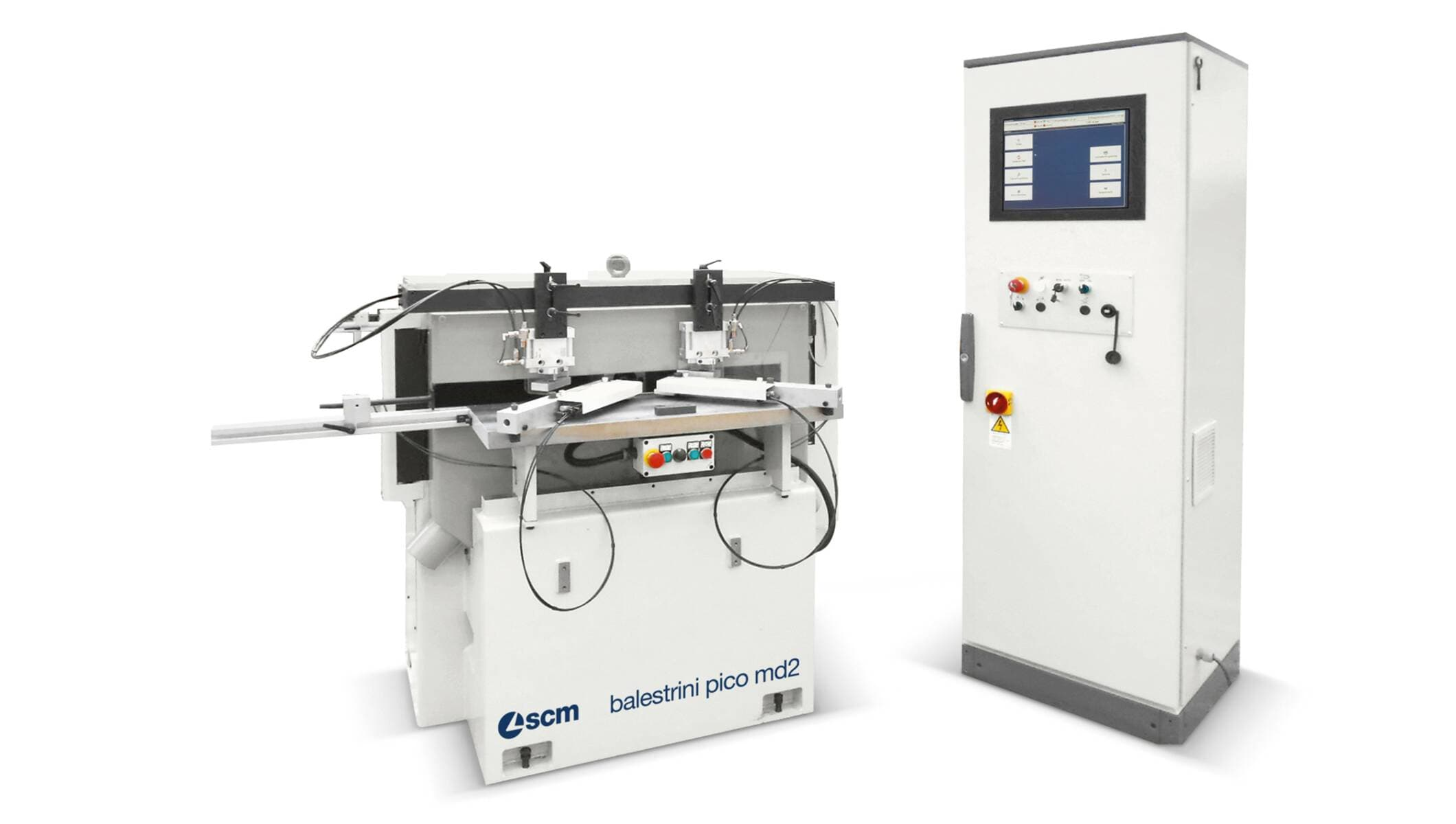 Tenoners, Mortisers, Double sided shapers - Tenoners, Mortisers, Double sided shapers - balestrini pico md2