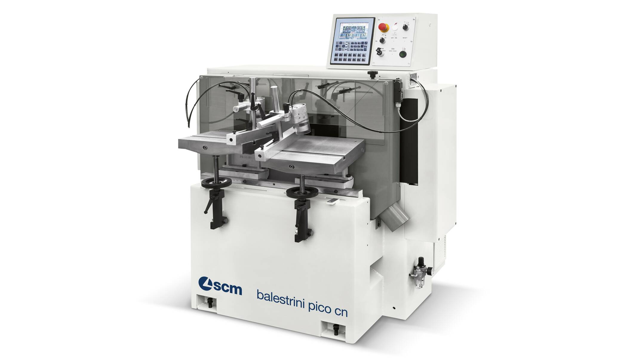 Tenoners, Mortisers, Double sided shapers - Tenoners, Mortisers, Double sided shapers - balestrini pico cn