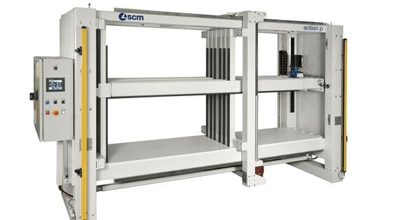 Electro Mechanical Cabinet Clamp Action P - SCM Group