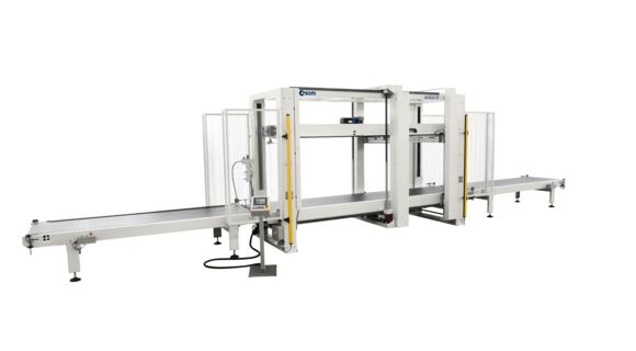 Through-Feed Electro Mechanical Cabinet Clamp Action TF - SCM Group