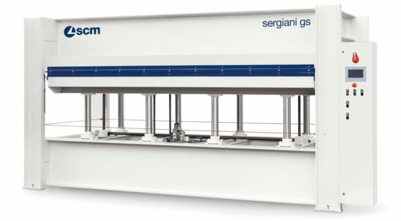 Press with Electronic Control and Manual Loading Sergiani GS - SCM