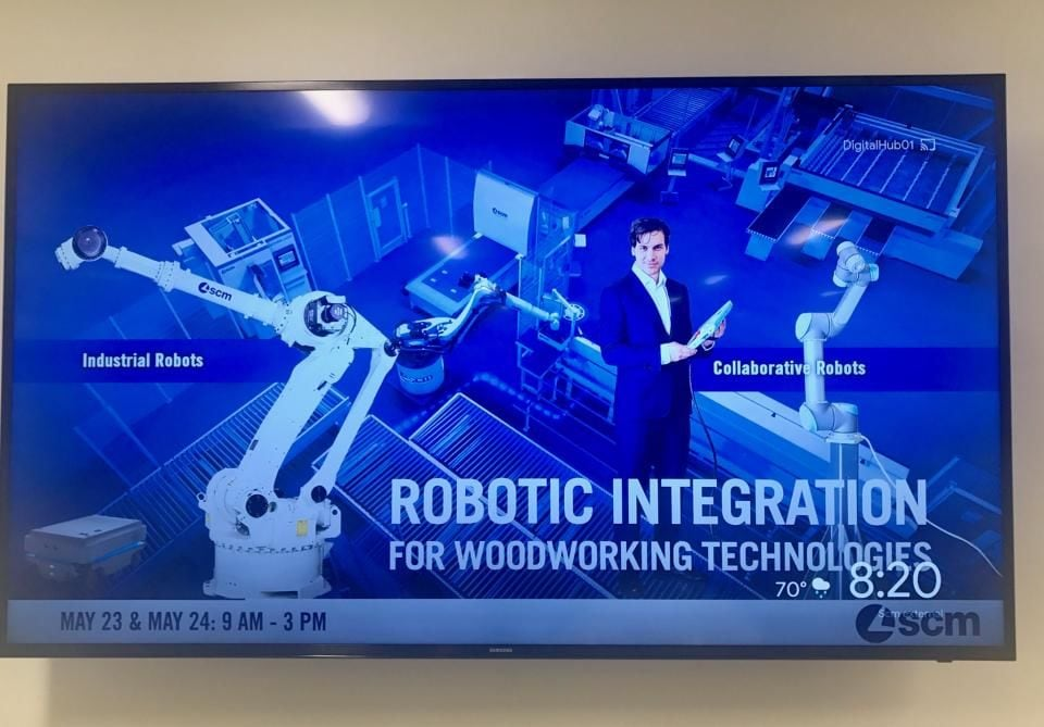 Robotic Integration for Woodworking Technologies