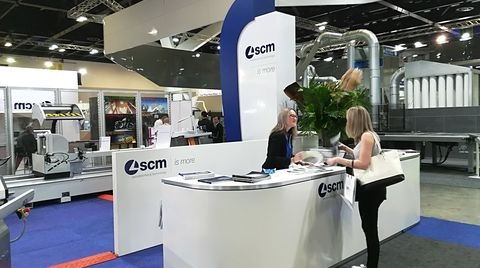 SCM and its Industry 4.0 solutions among top exhibitors at Awisa 2018