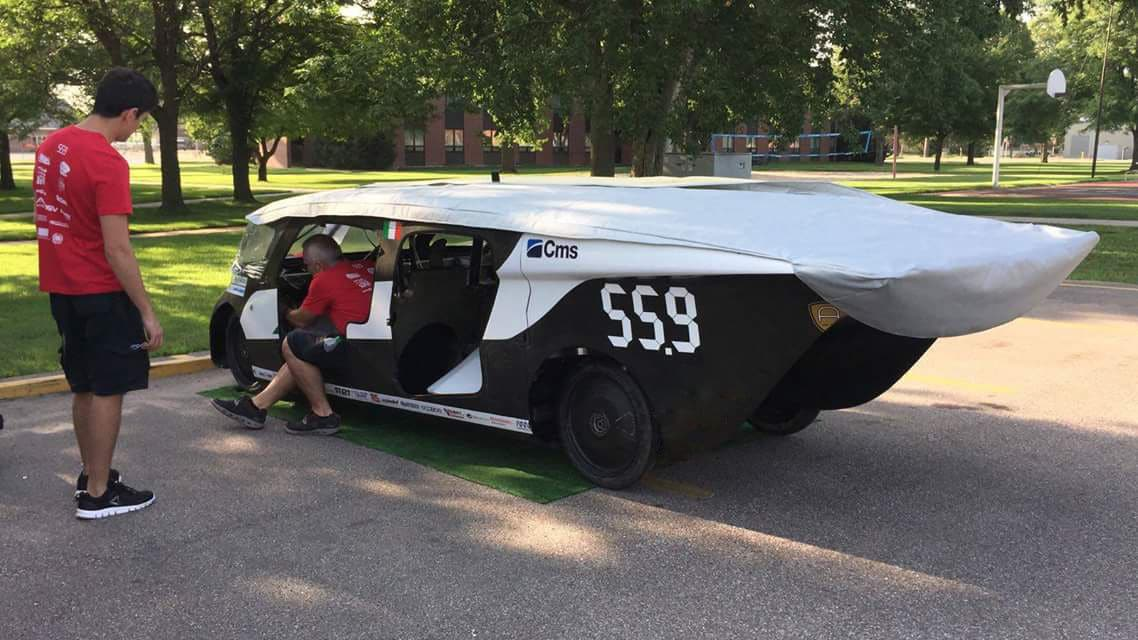 Emilia 4 has arrived in Nebraska: awaiting the American Solar Challenge preliminaries