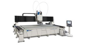 Brembana Aquatec - Robot di taglio a getto d'acqua Waterjet - SCM Group