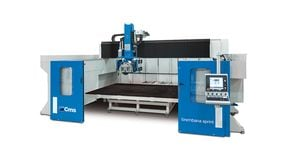 Brembana Sprint - Stone Bridge Milling Machine - CMS Stone