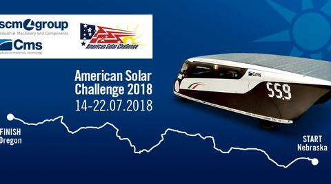 Emilia4 at American Solar Challenge: the adventure begin