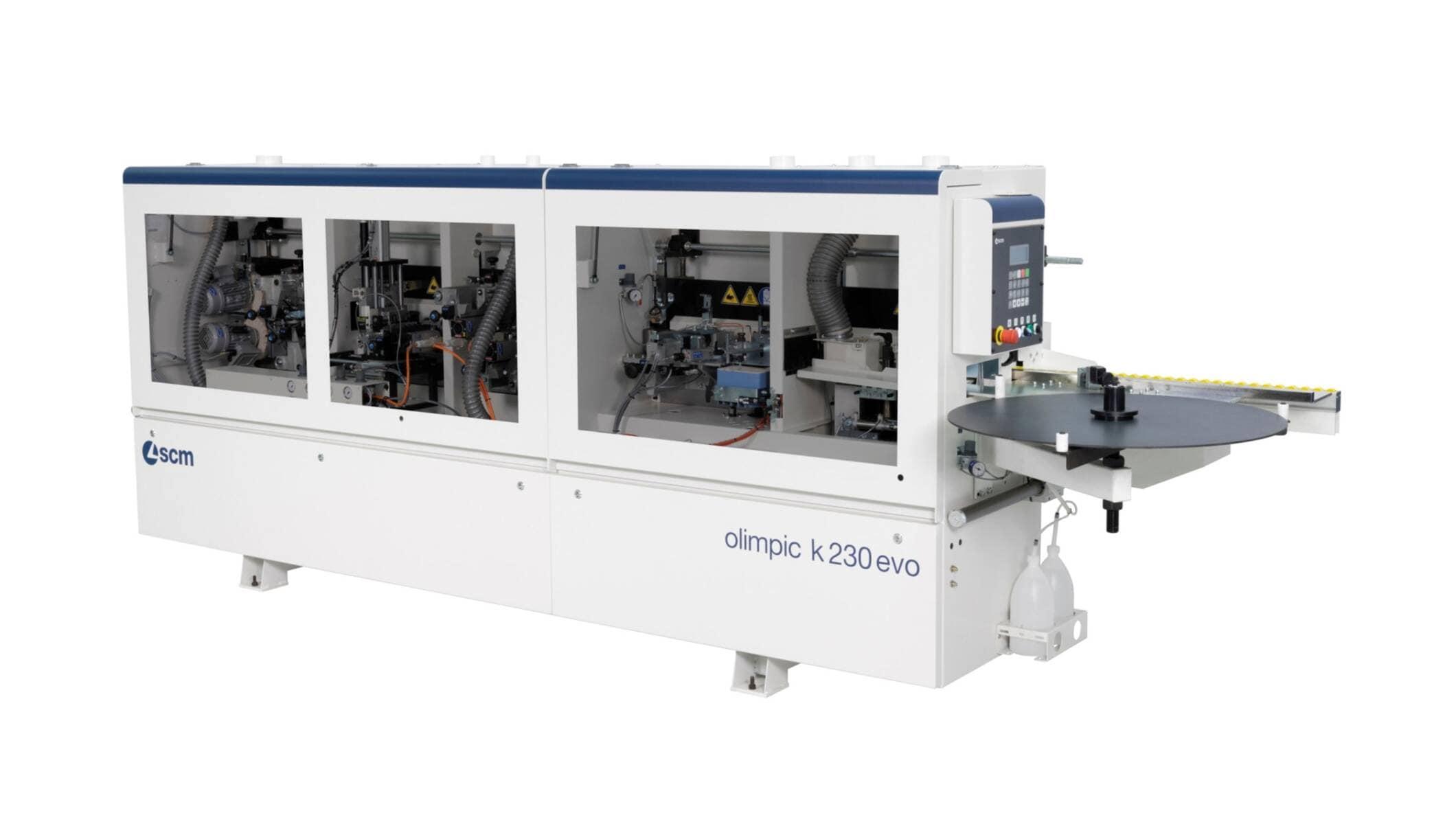 Single-Sided Automatic Edge Bander Olimpic K 230 Evo - SCM Group