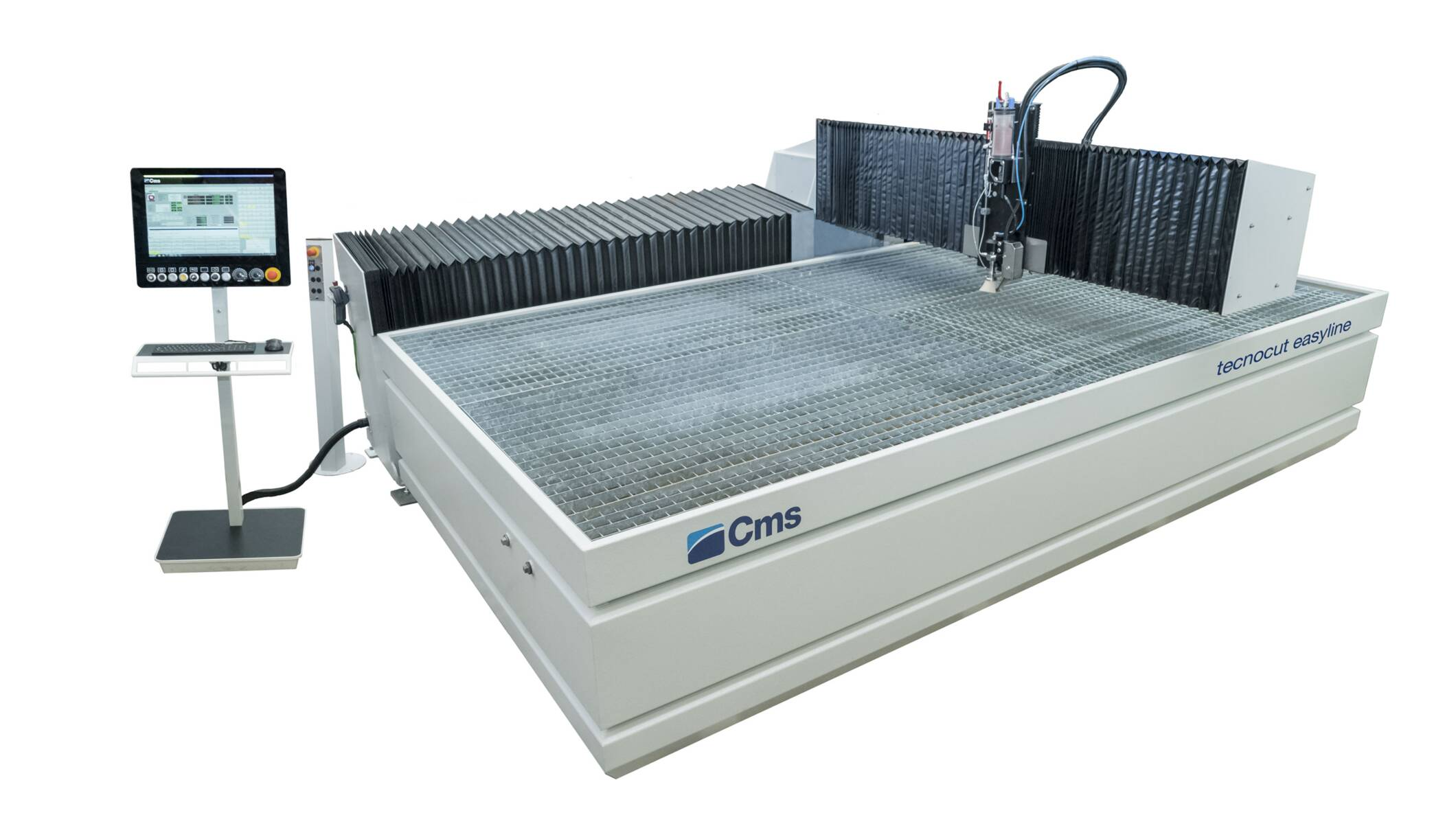 Metal processing - Complete waterjet cutting systems - tecnocut easyline