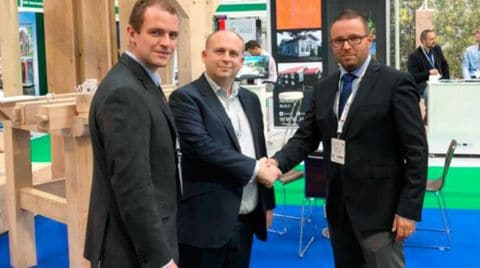 SCM at the Timber Expo with Carvalo Ltd, working together towards new wood construction horizons