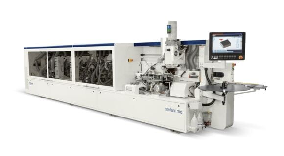 Elektronische Kantenanleimmaschine Solution Stefani MD - SCM Group