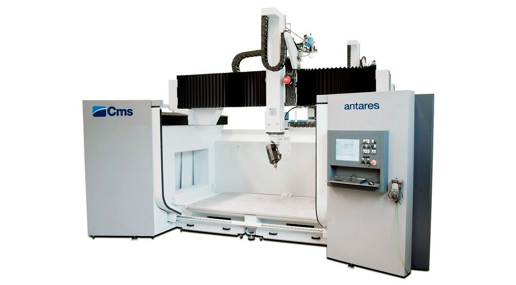 Antares - High Speed 5 Axis Machining Centre - CMS Advanced Materials