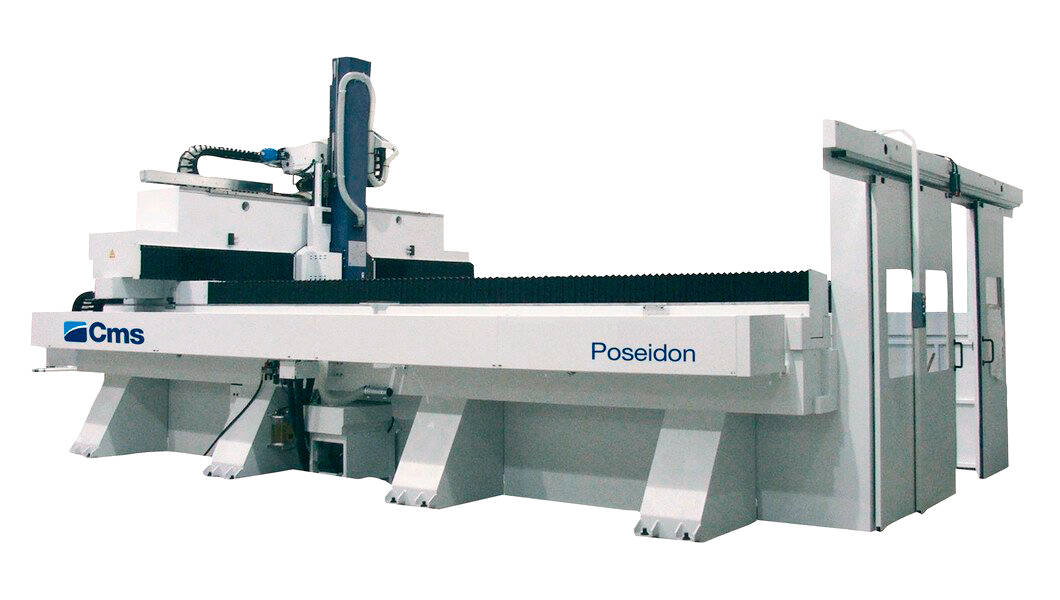5-axis CNC machining centers for milling and drilling - Gantry CNC machining centers for large-size work areas - poseidon