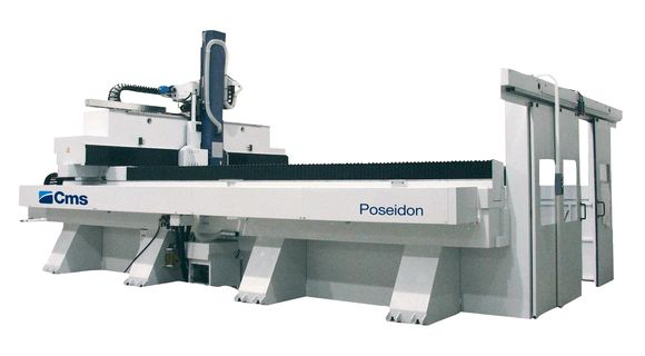 Poseidon | High Speed 5 Axis Machining Center | CMS Advanced Materials
