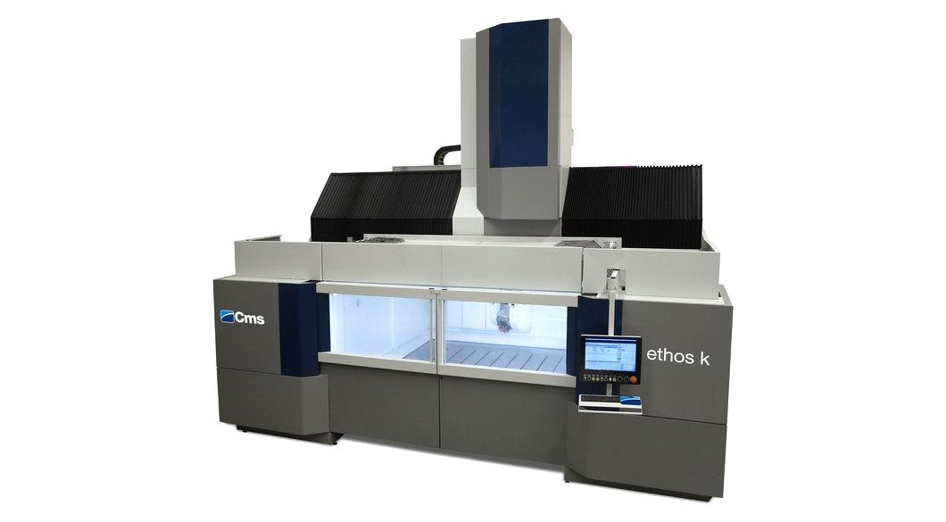 ETHOS K - High Speed 5 Axis Machining Centre - CMS Advanced Materials