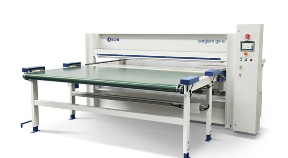Single Opening Press with Manual Loading Sergiani GSA - SCM Group