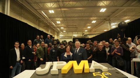 SCM North America joins JP Metal to celebrate 50th anniversary