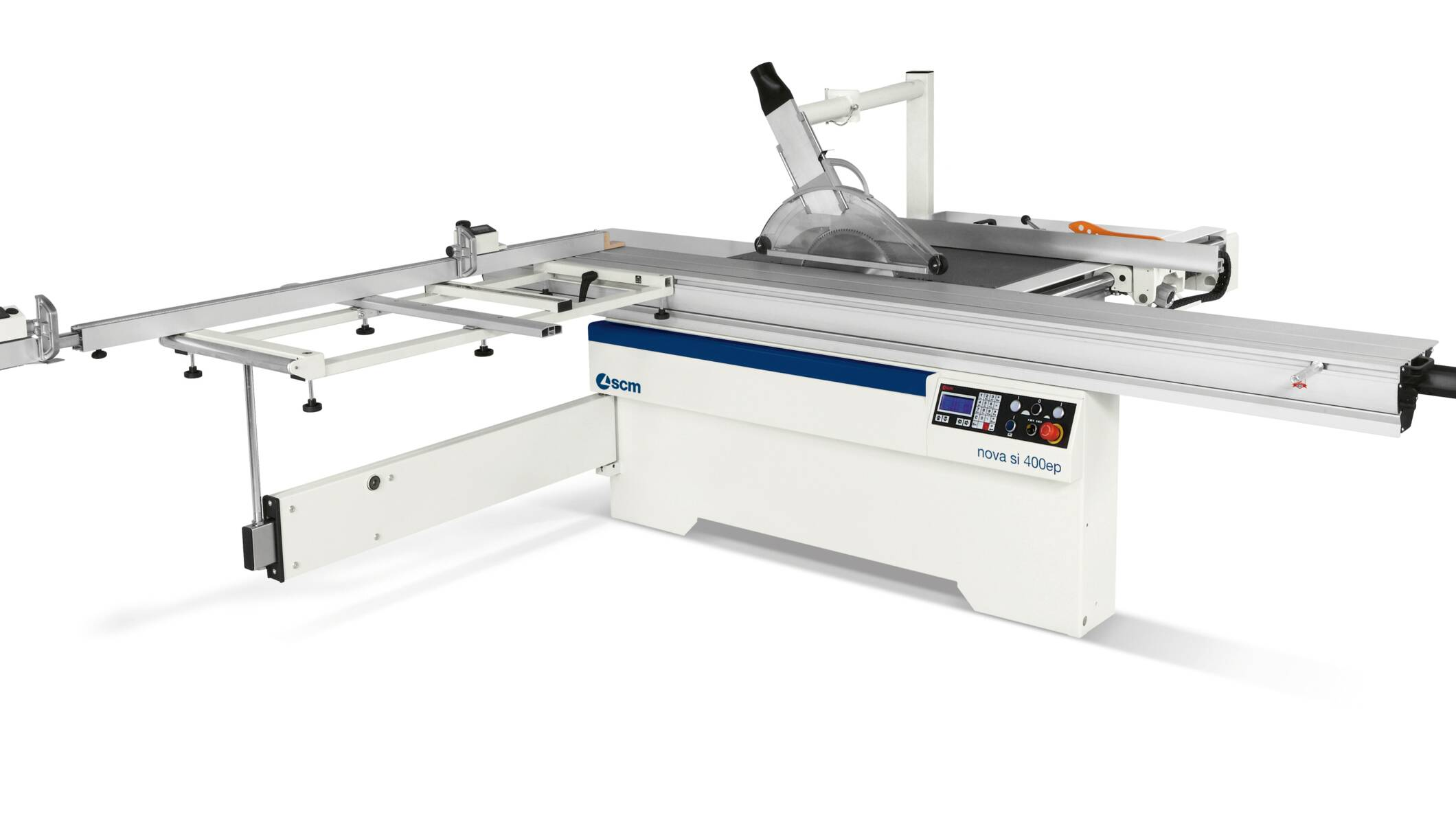 Joinery machines - Sliding table saws - nova si 400ep