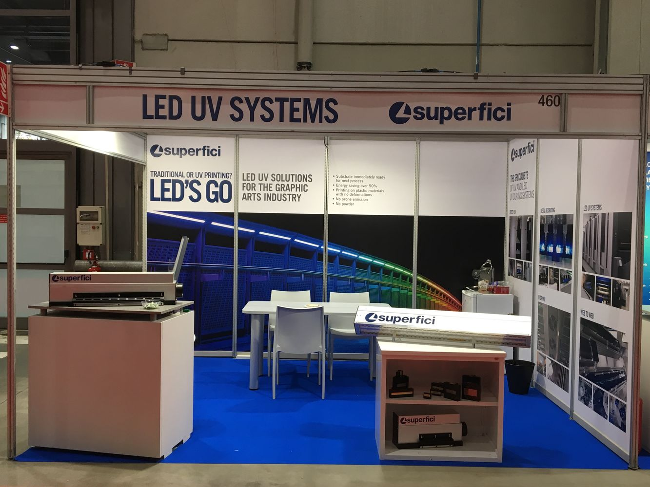 LED'S GO to InPrint Italy