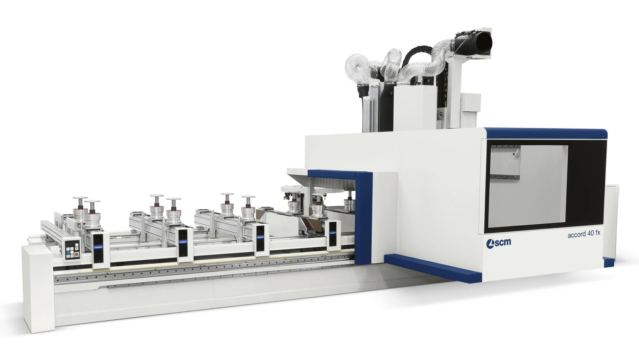CNC Machining Centres - CNC Machining Centres for solid wood routing and drilling - accord 40 fx