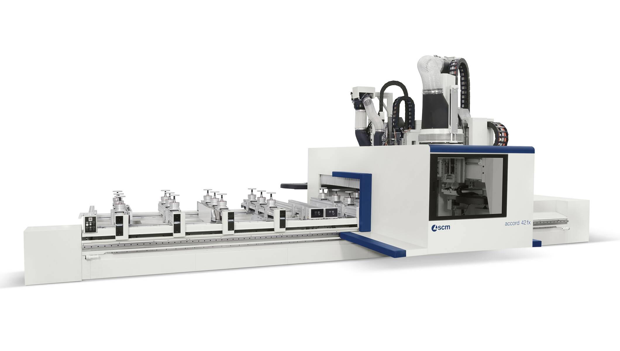 CNC Machining Centres - CNC Machining Centres for solid wood routing and drilling - accord 42 fx