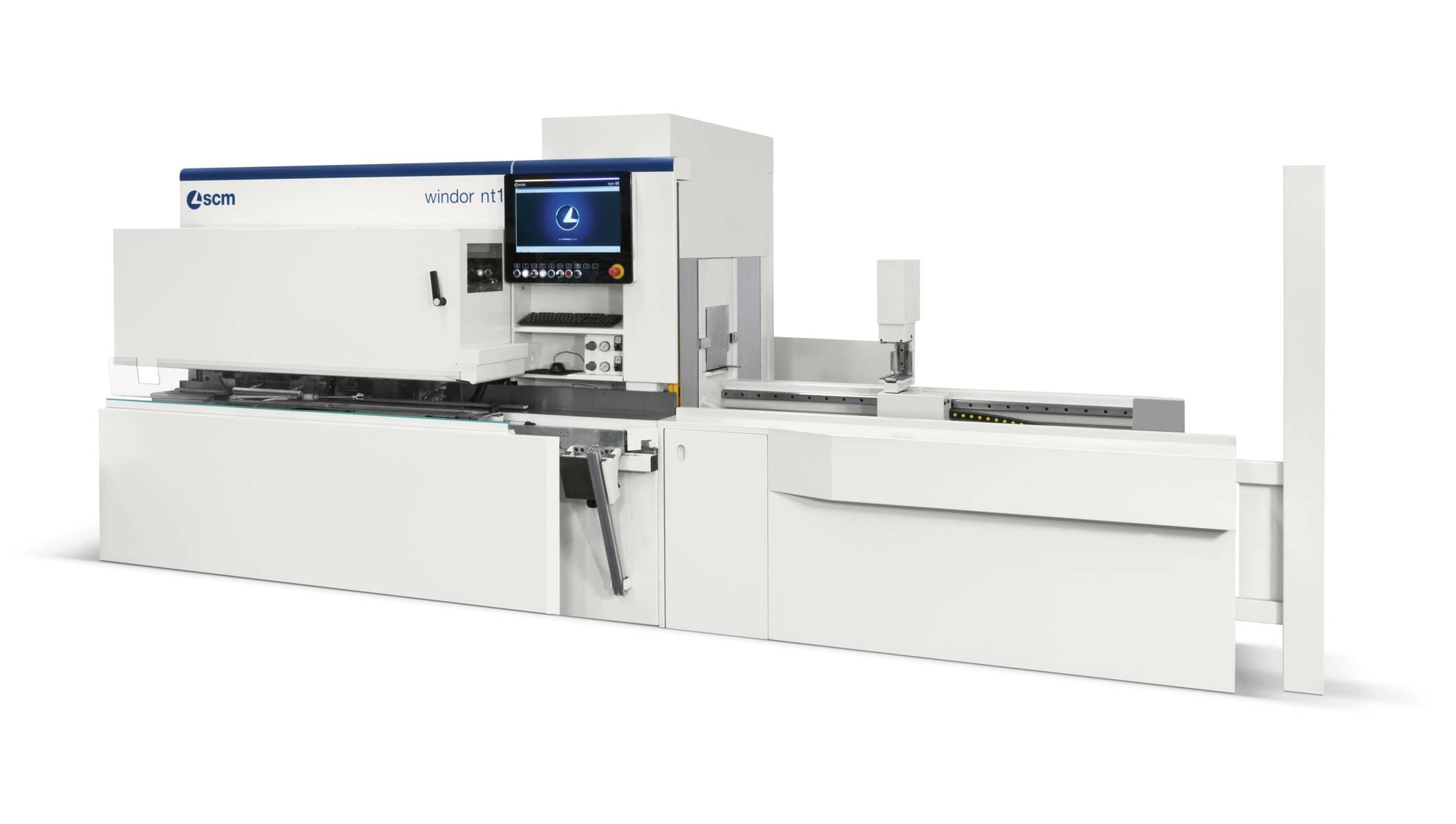Systems for doors and windows - Angular machining centres for doors and windows - windor nt1