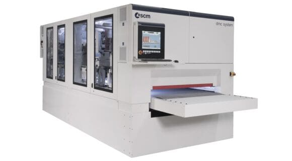 Automatic Calibrating Sanding Machine DMC System T10 - SCM Group